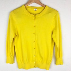 J. Crew Factory Clare Cardigan Button Up sweater